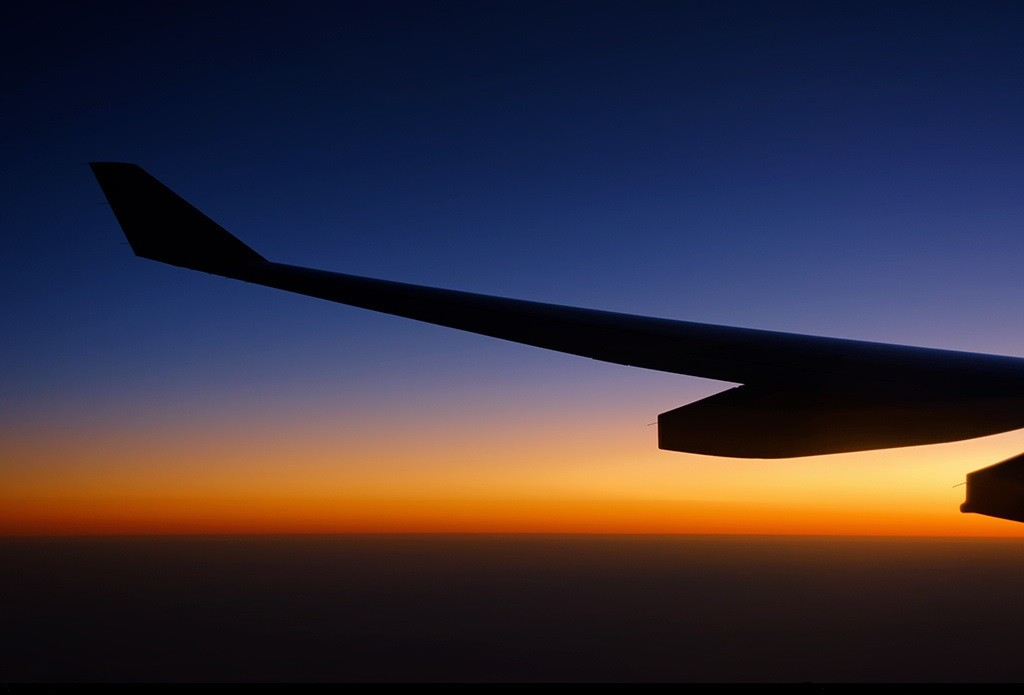 Sunset Wing Shot