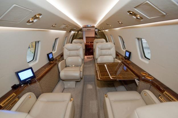 Cessna Citation 650 Interior