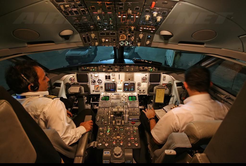 F-100 Cockpit